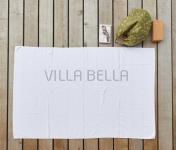100% Bio-BW Badetuch — Tilda, weiss