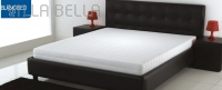 San Gottardo White Bed Latex Matratze