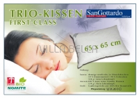 San Gottardo First Class Trio Kissen — 65 x 65/100cm