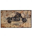 Wandschild Motocycle