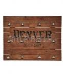 Wandschild Denver