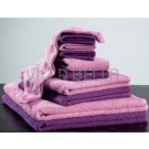 Frottée Set  — rosa & violett
