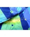 ganzjahres Steppdecke orange/blau — 60 x 60cm, 150 x 200cm, 200 x 200cm, 220 x 240cm