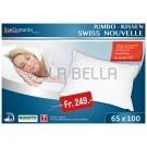 Volumen-Kissen Jumbo Swiss Nouvelle 65 x 100 cm und 65 x 65 cm